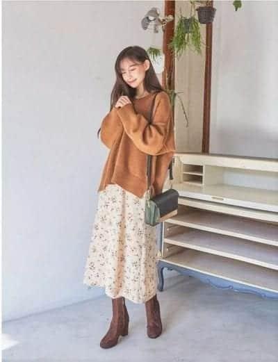 Trang phục có gam màu mùa thu đặc trưng - Ảnh 3