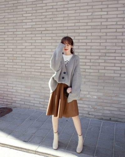 Chân váy đuôi cá/chân váy xòe - Ảnh 1