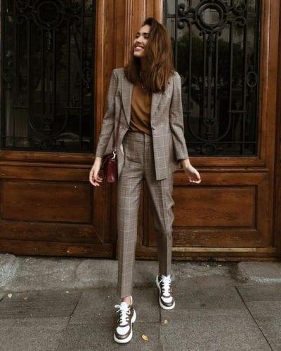 Bộ suit/blazer cho thời trang cuối mùa thu - Ảnh 2