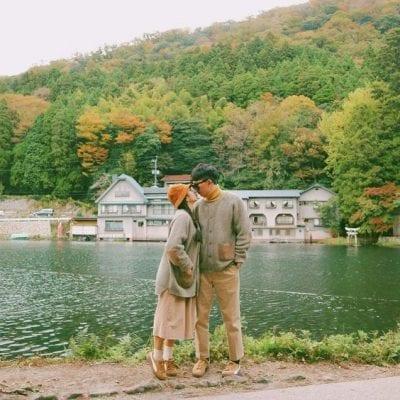 Đồ đôi đi du lịch đẹp theo phong cách Hàn Quốc - Ảnh 4
