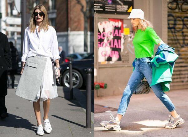 Kiểu giày này không chỉ mặc đẹp với váy và quần mà còn rất thoải mái chân