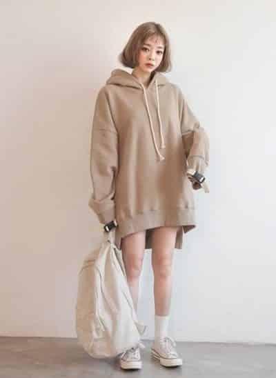áo hoodie mỏng cho nữ hoodie oversized