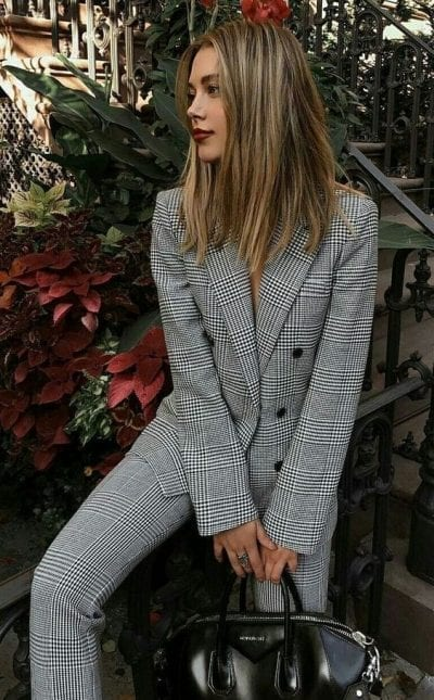 Bộ suit/blazer cho thời trang cuối mùa thu - Ảnh 3