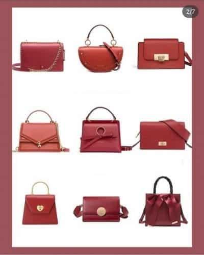 Đỏ quyến rũ cho buổi hẹn hò là 1 trong những màu & mẫu túi xách mới nhất