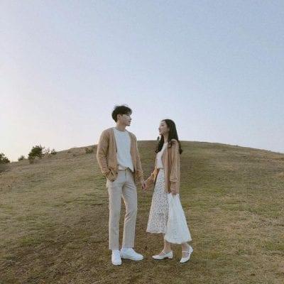 Đồ đôi đi du lịch đẹp theo phong cách Hàn Quốc - Ảnh 3