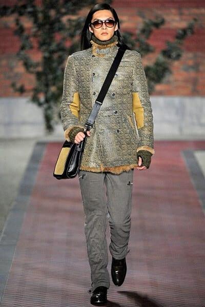 David Chiang trình diễn cho BST Thu – Đông 2012 của Tommy Hilfiger