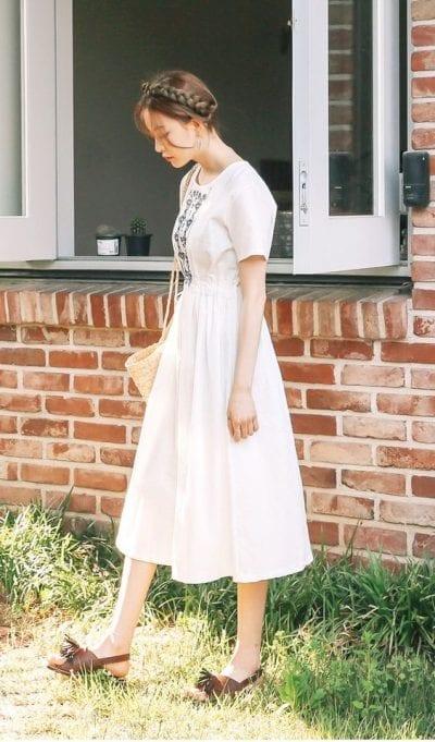 Những kiểu váy chiết eo giúp bạn thêm cân đối - Ảnh 4