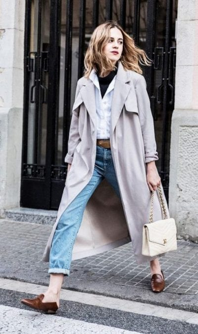Áo khoác trench coat