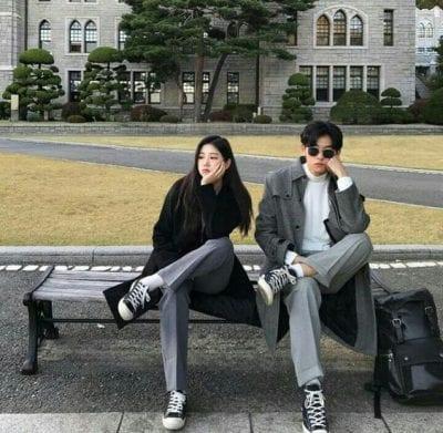 Đồ đôi đi du lịch đẹp theo phong cách Hàn Quốc - Ảnh 2