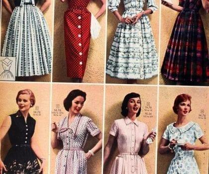 Xu hướng Vintage những thập niên 30 đến 60