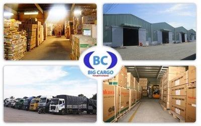 Big Cargo – Đơn vị chuyên cung cấp dịch vụ chành xe uy tín, giá rẻ