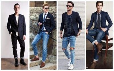 Kết hợp Blazer cùng quần Jeans