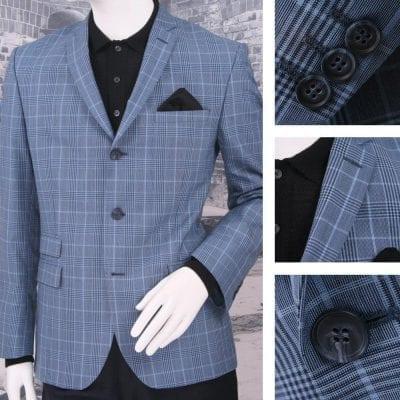 Áo Blazer nam 3 khuy có túi nắp mang lại vẻ lịch sự cho người mặc