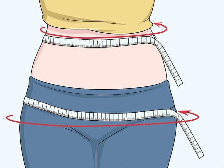 Hướng dẫn đo vòng eo và hông