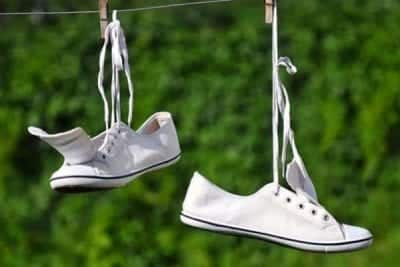 Giày của bạn sau khi giặt phải được phơi khô