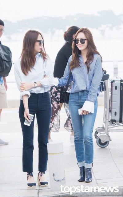 Jean và áo sơ mi, combo không thể thiếu của các nàng công sở.
