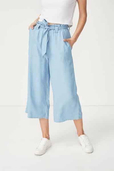 Chọn quần Culottes có độ rộng vừa phải