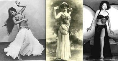 Xuất thân của croptop là trang phục biểu diễn của các vũ công múa bụng