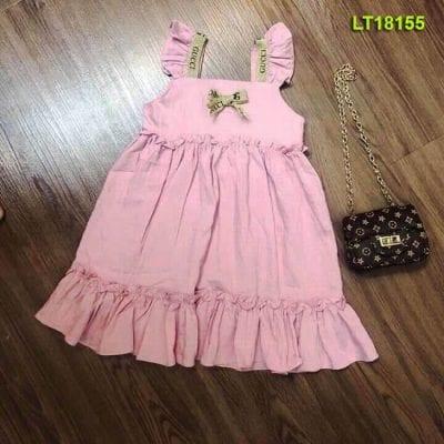 Áo đầm bé gái tại Xưởng may Long Thanh