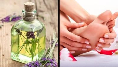 Sử dụng tinh dầu thơm giúp đẩy lùi mùi hôi chân