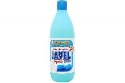 Dung dịch Javel tẩy trắng áo sơ mi