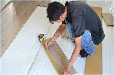 Thi công sàn gỗ Gia Hoàng