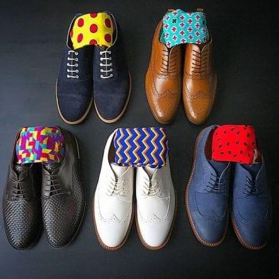Ngại gì mà không chọn một đôi tất màu sắc để thể hiện bản thân đúng không chàng trai?