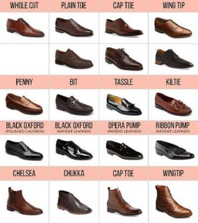 Một số mẫu giày bạn có thể tham khảo làm quà sinh nhật cho chàng