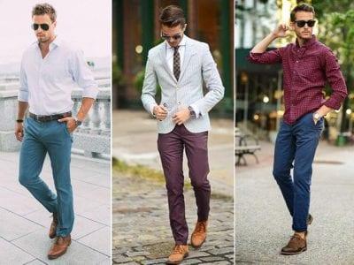 Giày màu nâu rất dễ kết hợp và là item được cánh mày râu sở hữu nhiều nhất