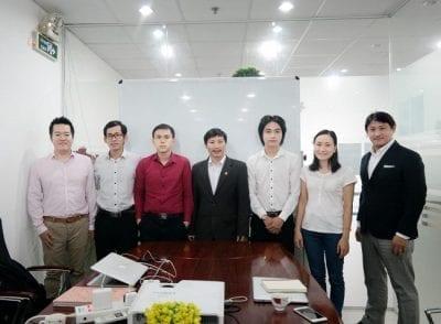 Đội ngũ lãnh đạo của công ty Gobranding