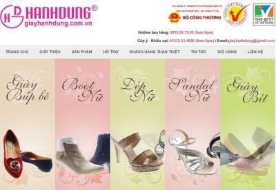 Cửa hàng giày thời trang Hạnh Dung