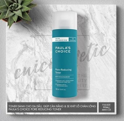 Toner Paula Choice Skin Balancing Pore-Reducing