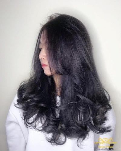 Kiểu tóc dài uốn đẹp nhất năm 2020 - Ảnh 7
