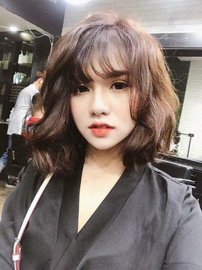 Kiểu tóc ngắn bồng bềnh 2020 nữ đẹp - Ảnh 1