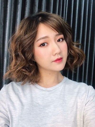 Kiểu tóc ngắn bồng bềnh 2020 nữ đẹp - Ảnh 18