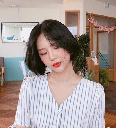 Kiểu tóc ngắn bồng bềnh 2020 nữ đẹp - Ảnh 3