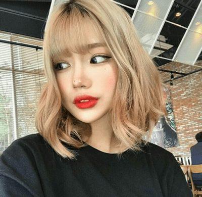 Kiểu tóc ngắn 2019 đẹp ảnh 2
