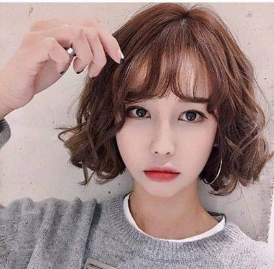 Tóc ngắn cho khuôn mặt dài nữ