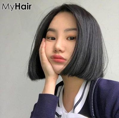Kiểu tóc ngắn uốn phồng