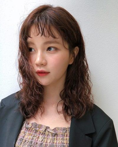 Kiểu tóc ngang vai đẹp nhất 2019 - Ảnh 30