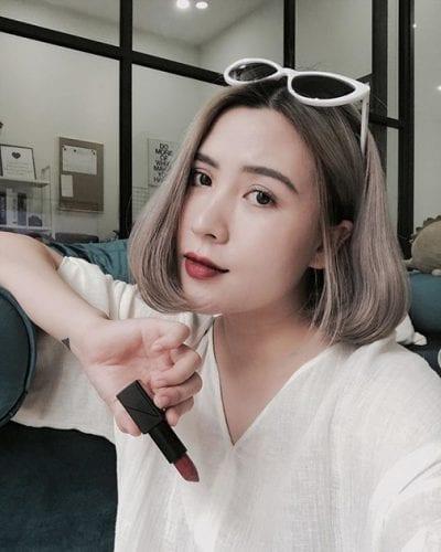 Kiểu tóc ngang vai đẹp nhất 2019 - Ảnh 35