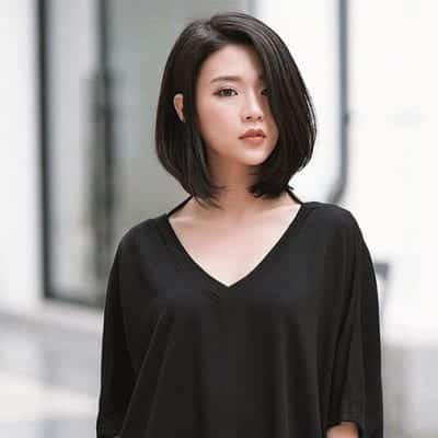 Kiểu tóc ngang vai đẹp nhất 2019 - Ảnh 36