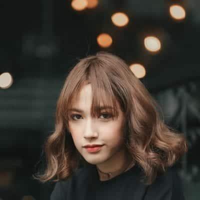 Kiểu tóc ngang vai đẹp nhất 2019 - Ảnh 43
