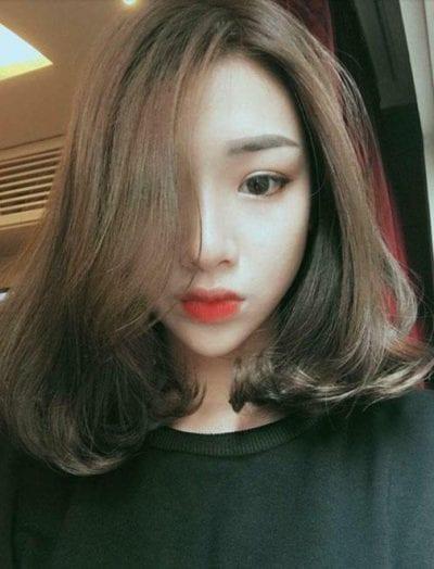 Kiểu tóc ngang vai đẹp nhất 2019 - Ảnh 48