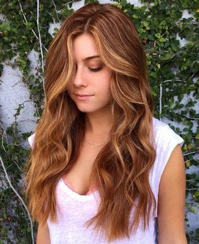 Tóc xoăn mái dài
