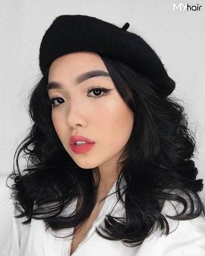 Kiểu tóc xoăn lọn to đẹp nhất năm 2020 - Ảnh 10