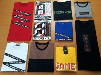 Màu sắc cực bắt mắt của sản phẩm áo thun tay lỡ tại Leeza
