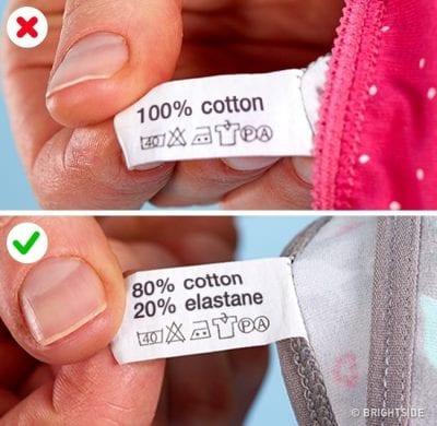 Nên chọn loại vải tổng hợp có thành phần cotton cao