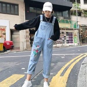 Yếm jean - Ảnh 1