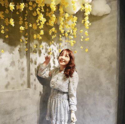 Ngọt ngào với trang phục váy voan hoa